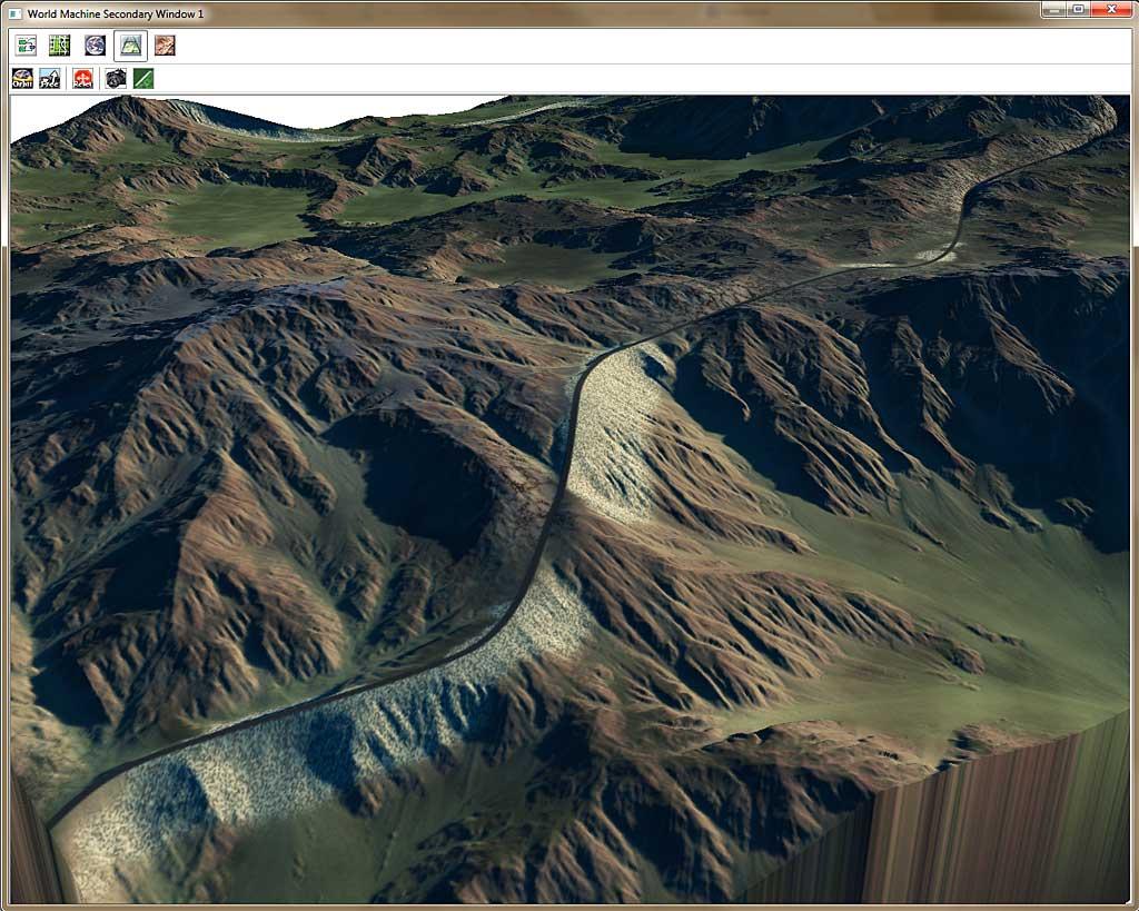 Texturing w/ Roads | World Machine Development Blog